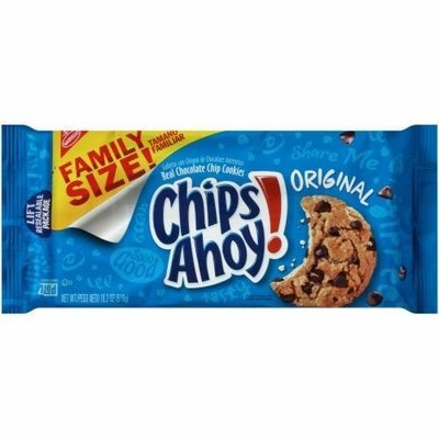 Cookies, Nabisco® Chips Ahoy® Chocolate Chip Cookies (Family Size, 18.2 oz Bag)