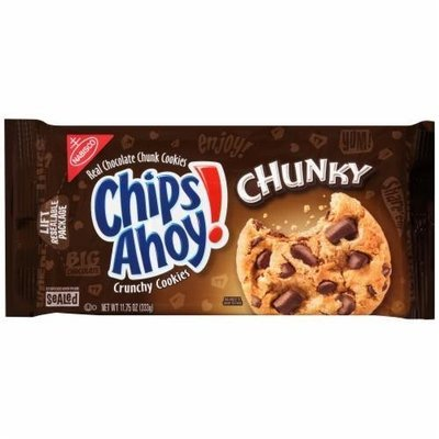 Cookies, Nabisco® Chips Ahoy® Chunky Chocolate Chip Cookies (11.75 oz Bag)
