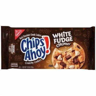 Cookies, Nabisco® Chips Ahoy® White Fudge Chunky Chocolate Chip Cookies (11.75 oz Bag)
