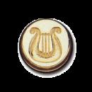 Wax Envelope Seal   854-H Celtic Harp