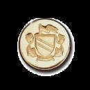 Wax Envelope Seal   845-H Coat of Arms