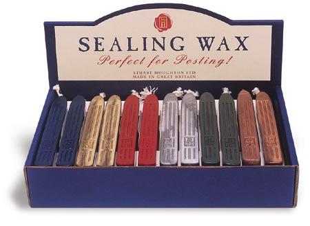 1 Stick - Envelope Sealing Wax - Bronze (Candle)