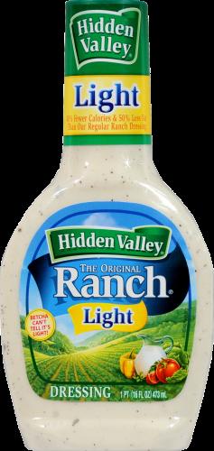 Salad Dressing, Hidden Valley Ranch® Light Ranch (16 oz Bottle)