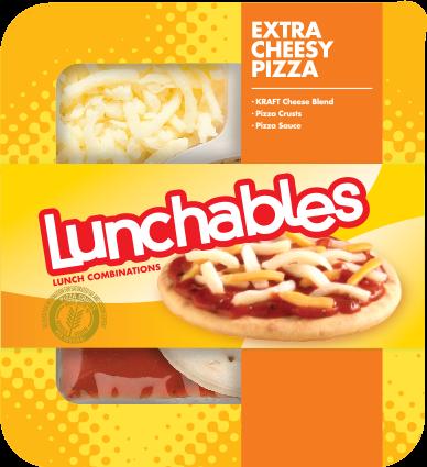 Pizza Snack, Lunchables® Extra Cheesy Pizza (4.2 oz Tray)