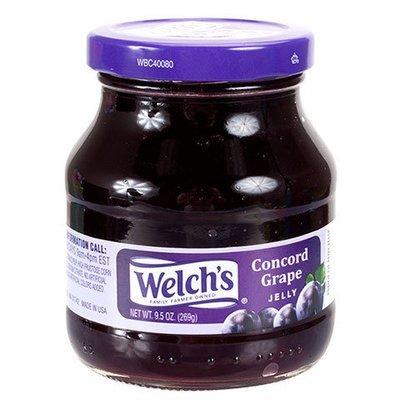 Fruit Spread, Welch's® Concord Grape Jam (9.5 oz Jar)