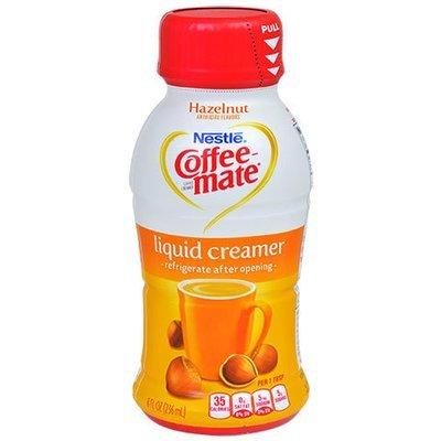 Coffee Creamer, Coffee-Mate® Hazelnut Liquid Creamer (8 oz Bottle)