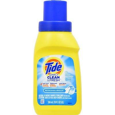 Laundry Soap, Tide® Simply Clean & Fresh Liquid Laundry Detergent (10 oz Bottle)