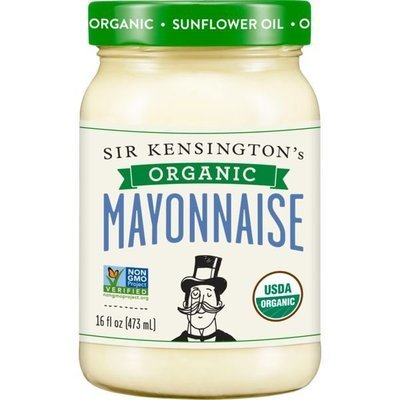 Organic Mayonnaise, Sir Kensington's® Organic Mayonnaise (16 oz Jar)