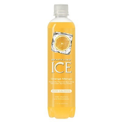 Sparkling Water, Sparkling Ice® Orange Mango (Single 17 oz Bottle)