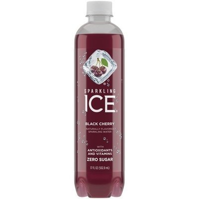 Sparkling Water, Sparkling Ice® Black Raspberry (Single 17 oz Bottle)