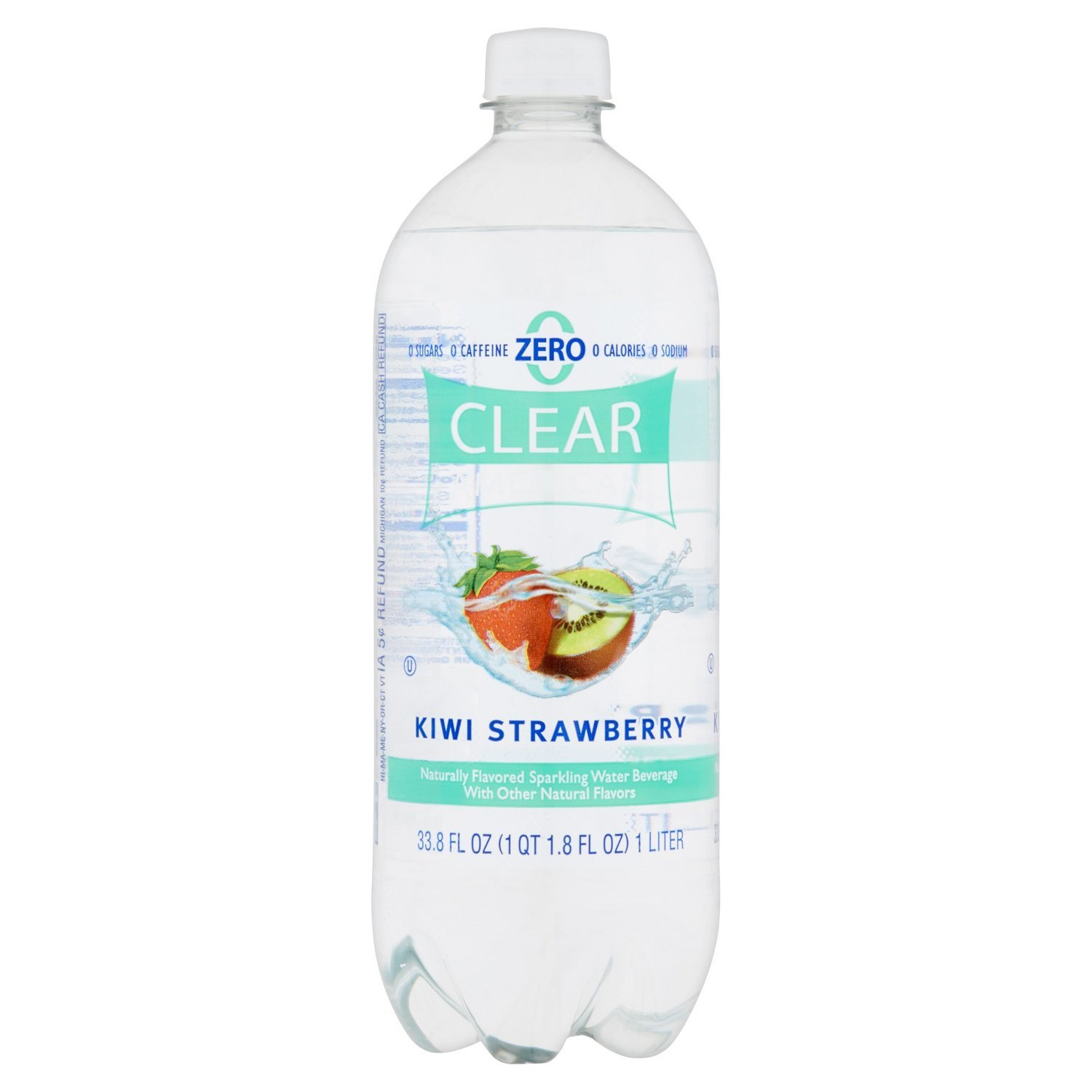 Sparkling Water, Clear American® Kiwi Strawberry (33.8 oz Bottle)