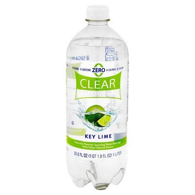 Sparkling Water, Clear American® Key Lime (33.8 oz Bottle)