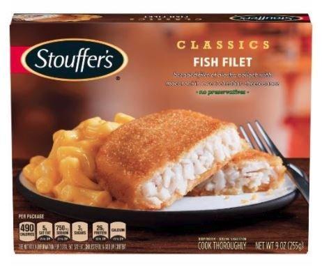 Frozen Dinner, Stouffer's® Fish Filet (9 oz Box)
