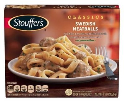 Meatballs, Stouffer's® Swedish Meatballs (11.5 oz Box)