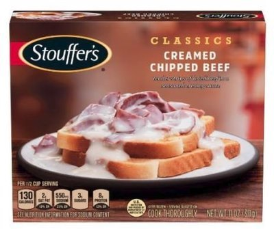 Dinner Stouffer's® Creamed Chipped Beef (11 oz Box)