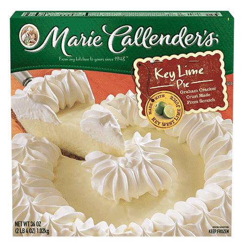 Pie, Marie Callender's® Key Lime Pie (36 oz Box)
