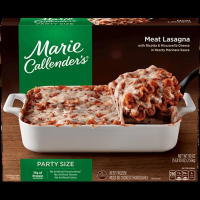 Frozen Lasagna, Marie Callender's® Meat Lasagna (90 oz Box)
