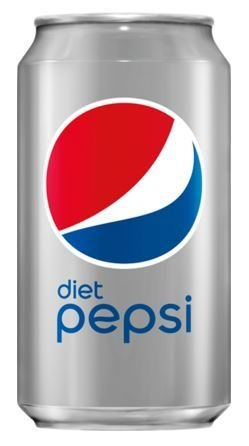Soda, Pepsi® Diet Soda (Single 12 oz Can)