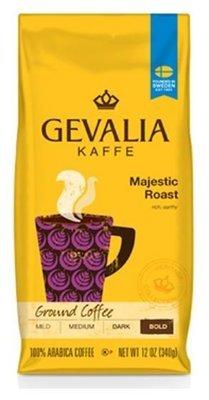 Ground Coffee, Gevalia® Majestic Roast Ground Coffee (12 oz Bag)