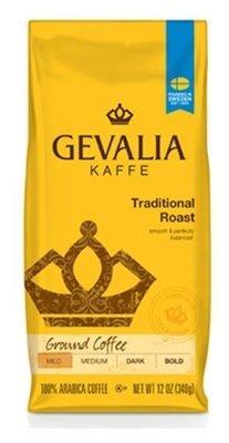 Ground Coffee, Gevalia® Traditional Roast Ground Coffee (12 oz Bag)