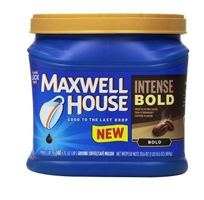 Ground Coffee, Maxwell House® Intense Bold® Ground Coffee (26.7 oz Tub)