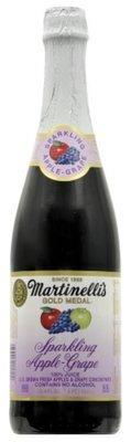 Juice Drink, Martinelli's® Sparkling Apple Grape Juice (25.4 oz Bottle)
