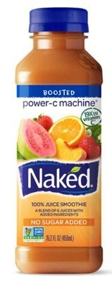 Juice Drink, Naked Juice® Power-C Machine® (15.2 oz Bottle)