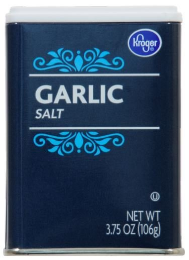 Seasonings, Kroger® Garlic Salt (3.75 oz Jar)