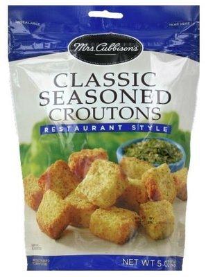 Salad Croutons, Mrs. Cubbison's® Classic Seasoned Croutons (5 oz Bag)