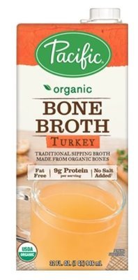 Boxed Organic Broth, Pacific® Organic Turkey Bone Broth (32 oz Box)