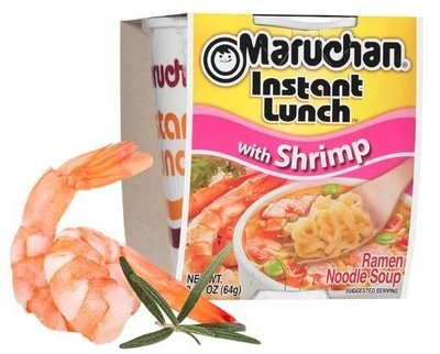 Ramen, Maruchan® Instant Lunch® Shrimp Ramen (2.25 oz Cup)