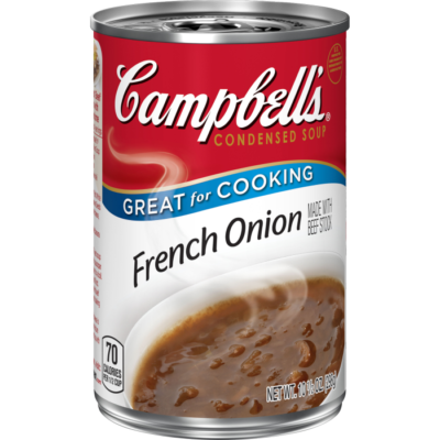 Canned Soup, Campbell's® Condensed® French Onion Soup (10.5 oz Can)
