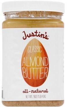 Almond Butter, Justin's® Classic Almond Butter (16 oz Jar)