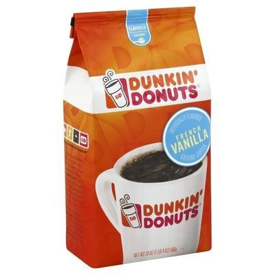Ground Coffee, Dunkin' Donuts® French Vanilla® Ground Coffee (12 oz Bag)