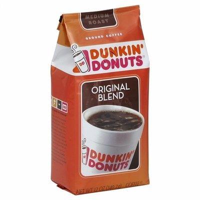 Ground Coffee, Dunkin' Donuts® Original Blend™ Ground Coffee (12 oz Bag)