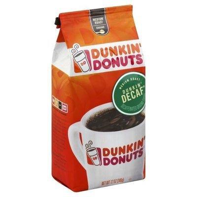 Ground Coffee, Dunkin' Donuts® Dunkin' Decaf® Ground Coffee (12 oz Bag)