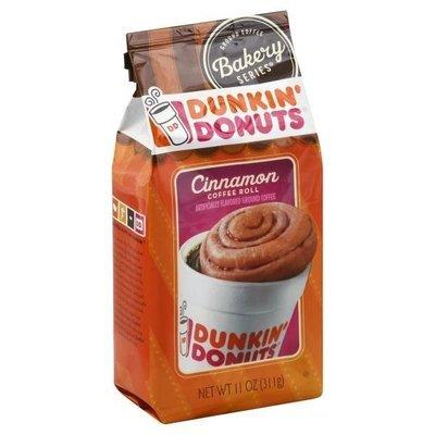 Ground Coffee, Dunkin' Donuts® Cinnamon Coffee Roll® Ground Coffee (12 oz Bag)