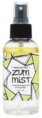 Aromatherapy, Zum Mist® Lemongrass Body Mist (4 oz Pump Bottle)