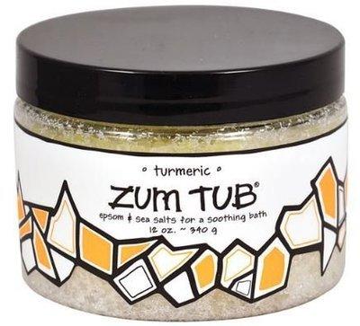 Bath Salt, Zum Tub® Turmeric Bath Salt (12 oz Canister)