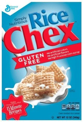 Cereal, General Mills® Chex® Rice Cereal (12 oz Box)