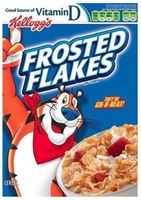 Cereal, Kellogg's® Frosted Flakes™ Cereal (15 oz Box)