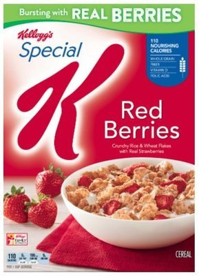 Cereal, Kellogg's® Special K® Red Berries Cereal (11.2 oz Box)
