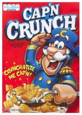 Cereal, Quaker Oats® Cap'n Crunch® Original Cereal (14 oz Box)