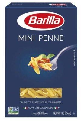 Pasta, Barilla® Mini Penne Pasta (16 oz Box)