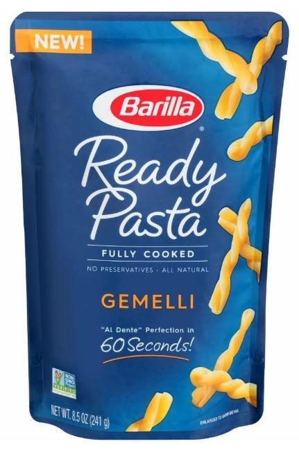 Pasta, Barilla® Ready Pasta® Gemelli Pasta (8.5 oz Box)