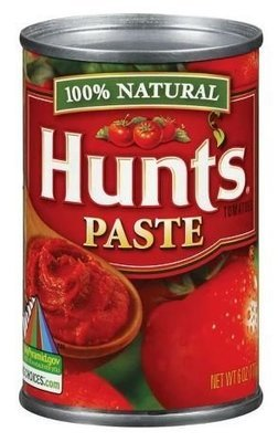 Canned Tomato, Hunt's® Tomato Paste (6 oz Can)
