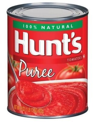 Canned Tomato, Tomatoes, Hunt's® Tomato Puree (29 oz Can)
