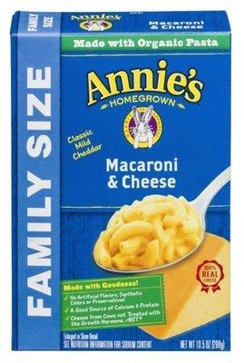 Mac N Cheese Pasta, Annie's® Classic Macaroni & Cheese (10.5 Box)