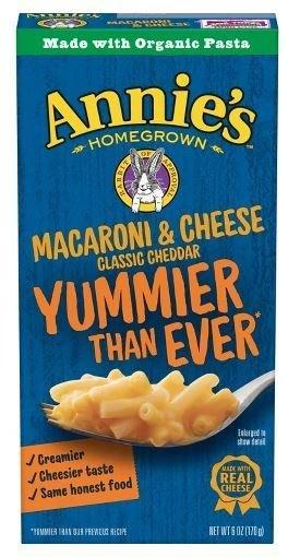 Mac N Cheese Pasta, Annie's® Classic Macaroni & Cheese (6 oz Box)