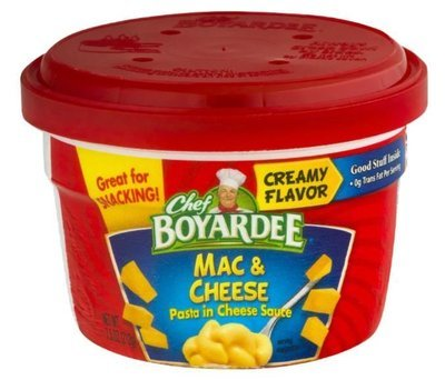 Mac N Cheese Cup, Chef Boyardee® Mac & Cheese (7.5 oz Cup)